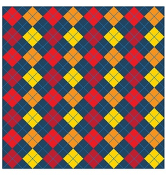 Argyle Seamless Pattern Design vector image