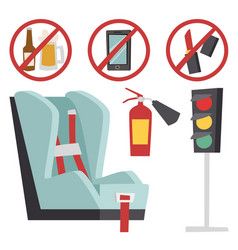 Auto transport motorist icon symbol vehicle vector