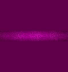 banner of small circles vector image