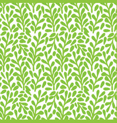 branch with leaves seamless pattern perfect for vector image