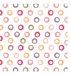color background with circles vector image