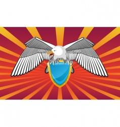 Eagle emblem vector
