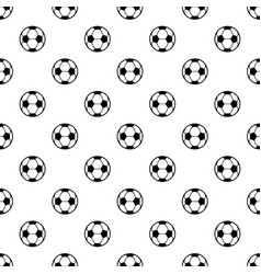 football icon simple black style vector image