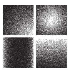Grain textures sketch gradient printed grainy vector