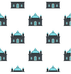Kingdom palace pattern seamless vector