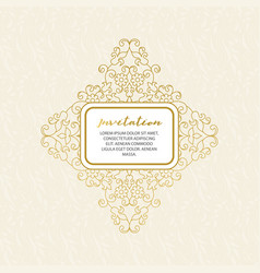 lace decor for birthday and greeting card wedding vector image