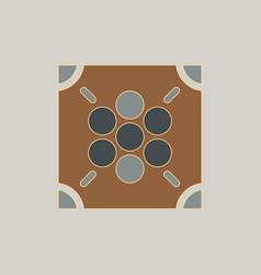 Ludo board game vector