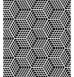 Seamless op art pattern vector