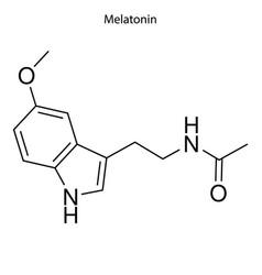 skeletal formula chemical element vector image