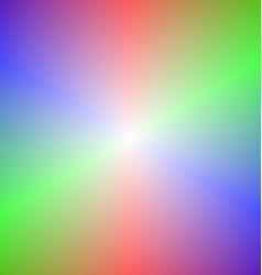 Smooth abstract rainbow gradient background vector image