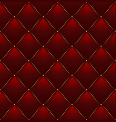 quilted pattern background vector image vector image