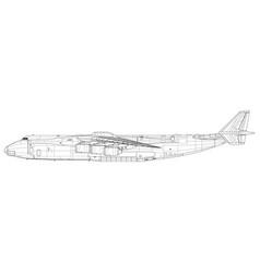 Antonov an-225 mriya cossack vector