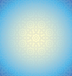 arabian pattern background vector image