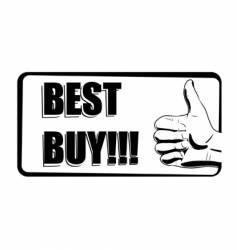 best buy icon vector image