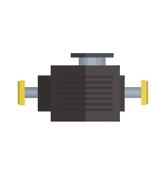 Engine icon car motor graphic symbol vector image