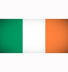 National flag of Ireland vector image
