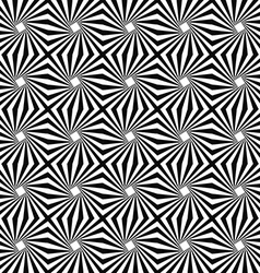 Seamless monochromatic stripe pattern design vector image