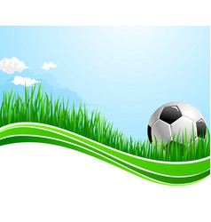 football soccer sport arena background vector image