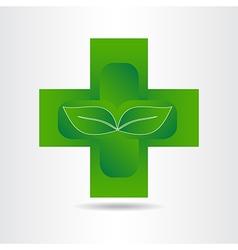 Green Pharmacy 001 vector image vector image