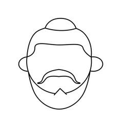 jew using kipa vector image