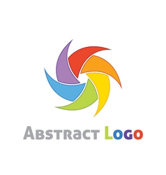 Abstract logo template vector