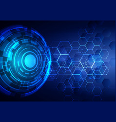 abstract technology futuristic transfer digital vector image