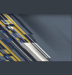 dots stripe grey color background vector image
