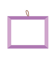 frame decoration empty isolated icon design vector image