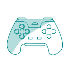 Game controller design vector