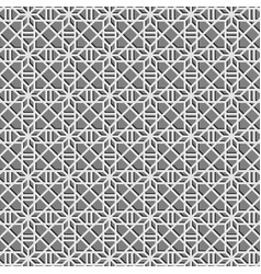 Geometric gray pattern background texture vector