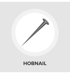 Hobnail flat icon vector image
