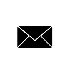 new email outline icon vector image