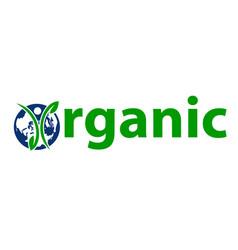 Organic letter vector