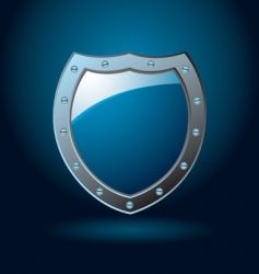 shield blank vector image