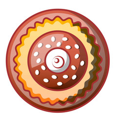 sweet bakery icon cartoon style vector image