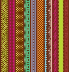 ornamental lines abstract collection vector image vector image