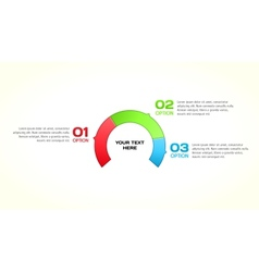 Infographic template for your design vector image vector image