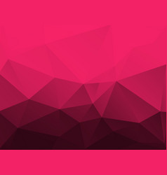 abstract red polygonal pattern vector image