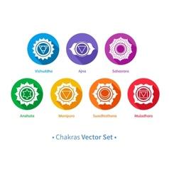Chakras vector