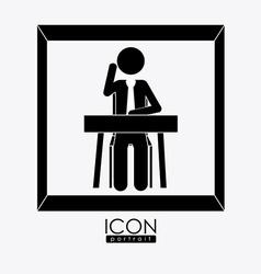 class room desing vector image