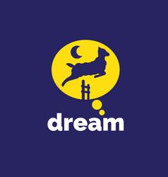dream sheep vector image