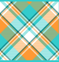 madras check plaid light seamless pattern vector image