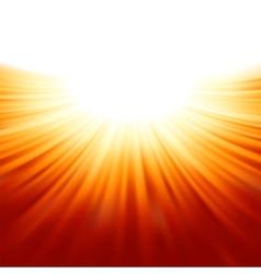 sunburst rays sunlight template eps 8 vector image