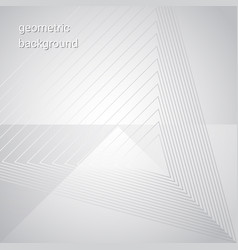 white gray triangular geometric background for vector image