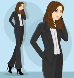 careerwoman5 vector image