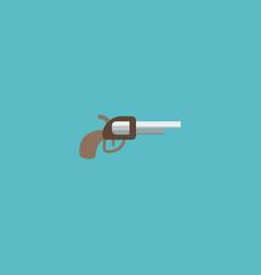 flat icon gun element of flat vector image vector image