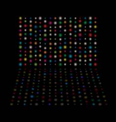 light glow equaliser vector image vector image