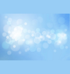 bokeh background vector image