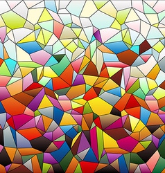 Mosaic small tiles 2 vector image vector image