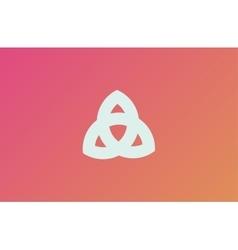 Abstract logo minimalistic logo design creative vector